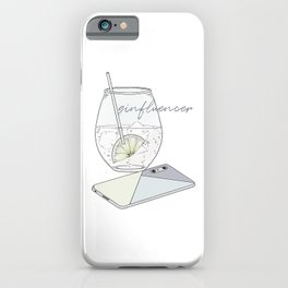 Ginfluencer iPhone Case