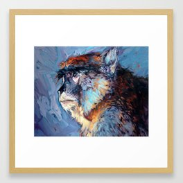 Juliette - Austin Zoo Framed Art Print