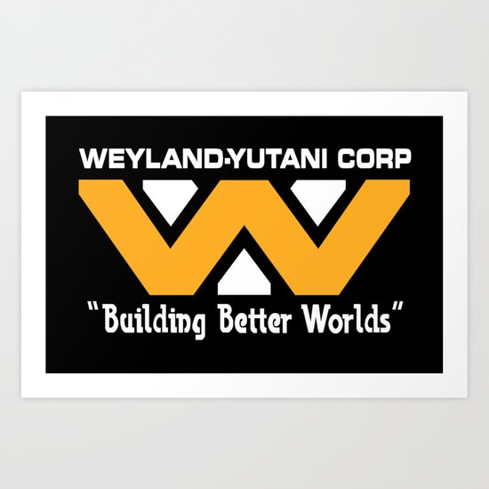 Weyland-Yutani Corporation Art Print