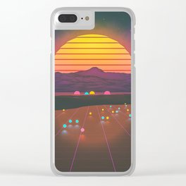colorado dreamin Clear iPhone Case