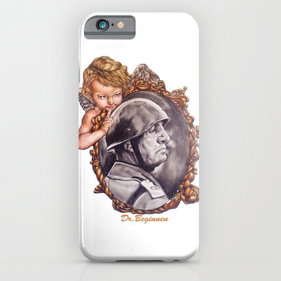 COME BACK OR LEAVE By Davy Wong iPhone & iPod Case