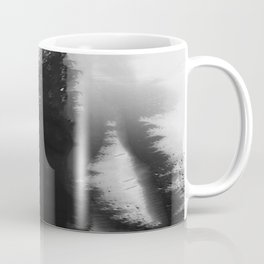 What Lies Down Hidden Rain Drenched Paths Coffee Mug