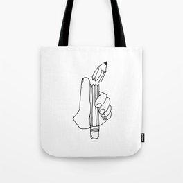 dang it pencil Tote Bag