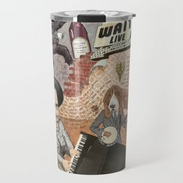 Tom Waits' Melodramatic Nocturnal Scene Travel Mug