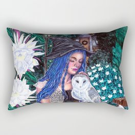 Belladona's Moon Garden Rectangular Pillow