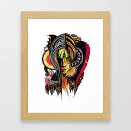 Mirela Framed Art Print