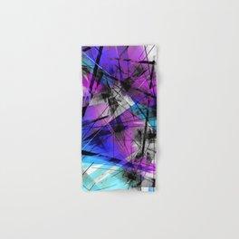 Lines of Departure - Futuristic Geometric Abstract Art Hand & Bath Towel