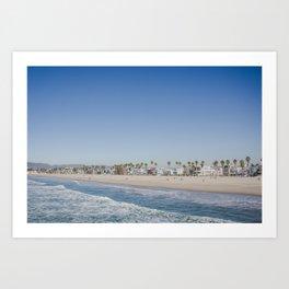 California Dreamin - Venice Beach Art Print