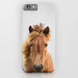 Wild Horse - Colorful iPhone Case