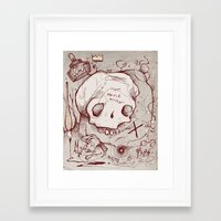 occult Framed Art Prints featuring Series Occult by hatrobot