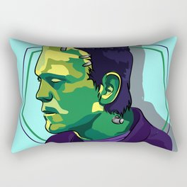The Monster's of Frankenstein Rectangular Pillow