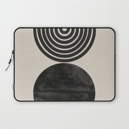 Woodblock Print, Modern Art Laptop Sleeve