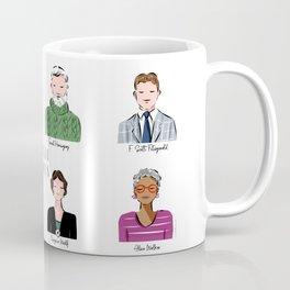 Famous Writers - Literal Hotties Coffee Mug