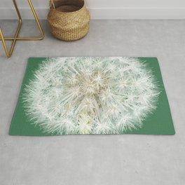 A Single Dandelion Rug