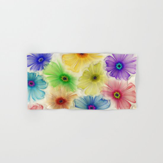 Flowers for Eternity Hand & Bath Towel