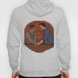 Malec on the Balcony Hoody