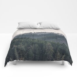 Pacific Northwest Forest - Nature Photography Comforters