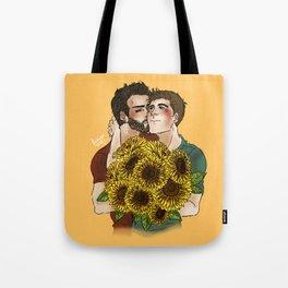 Sterek Sunflower Print Tote Bag