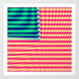 Quantum USA Art Print