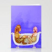 bath Stationery Cards featuring Bath by Mottinthepot