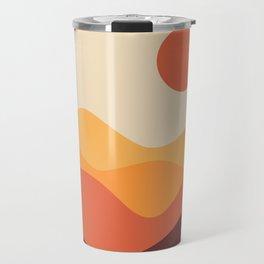 Geometric Landscape 21 Travel Mug