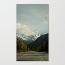 Rocky Mountain Way Canvas Print