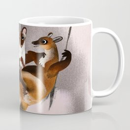 Love galidia and the swing Coffee Mug