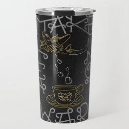 Make Black Tea... Not War Travel Mug