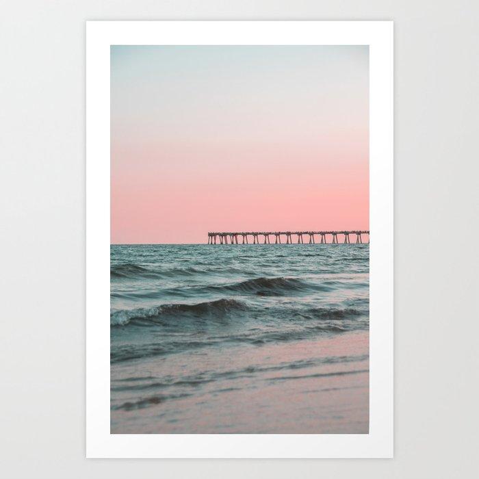 Pink Ocean Kunstdrucke