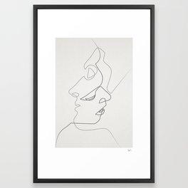 Close Framed Art Print