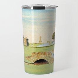 St Andrews Golf Course 18th Hole Travel Mug