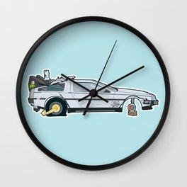 Busted: DeLorean DMC-12 Wall Clock