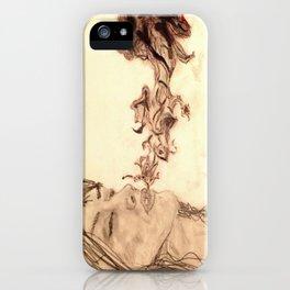 Purple Smoke iPhone Case