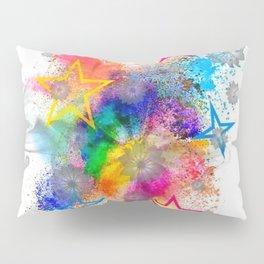 Color blobs by Nico Bielow Pillow Sham