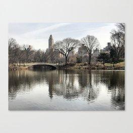 Iconic Central Park Canvas Print