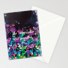 The Impossible is Possible Stationery Cards
