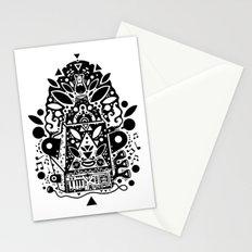 kozmik machine Stationery Cards