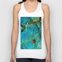 ladybug Tank Tops featuring LadyBug by Sandy Broenimann