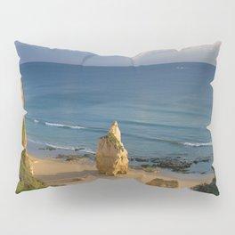 Praia da Rocha solitary rock Pillow Sham