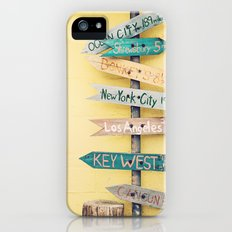 Going Places iPhone (5, 5s) Slim Case