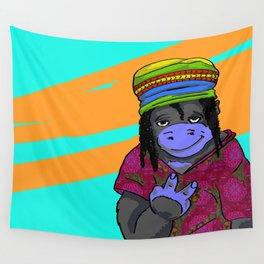 Gorrila Hippie Wall Tapestry