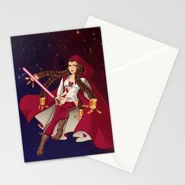 Jedi Jade Stationery Cards