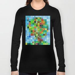 Green Town Long Sleeve T-shirt