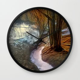 Late Wintrous Brook Wall Clock