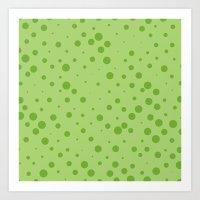 Random Dots Art Print
