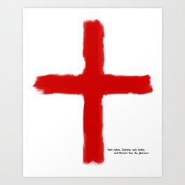 The Crusades - Temple Knights Art Print