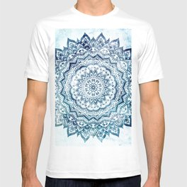 BLUE JEWEL MANDALA T-shirt