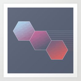 Hexed Art Print