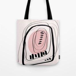 Modern minimal forms 11 Tote Bag