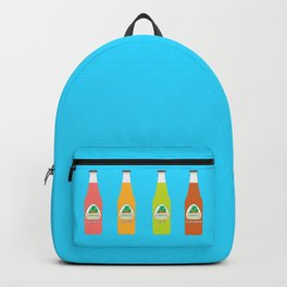 Jarritos the all natural fruit flavored sodas Backpack